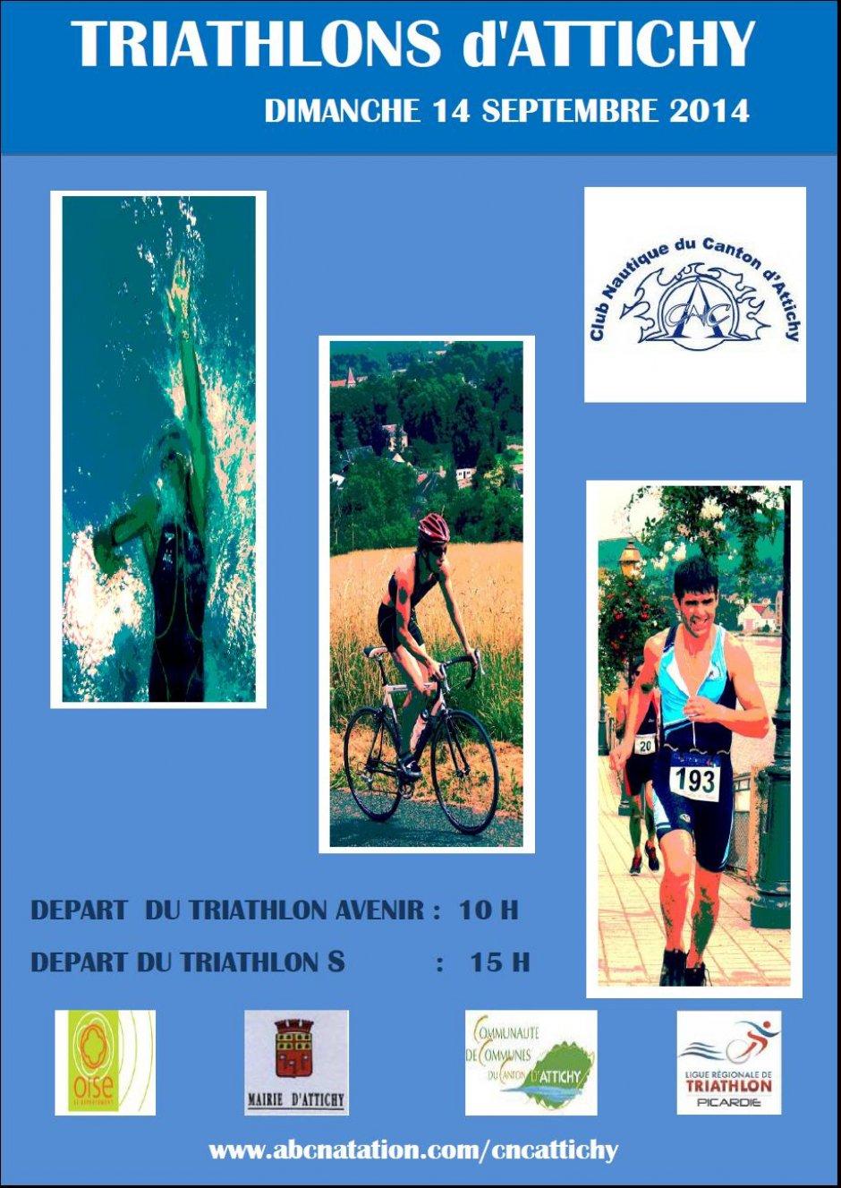 Triathlon sprint paris