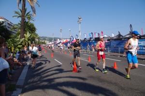 Nicolas at Nice Ironman 2015