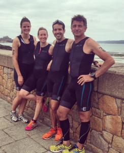 Celine, Jo, Manuel, Paul in Jersey 2015