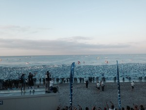 Into the water: Nice Ironman 2015