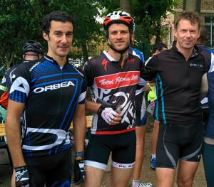 Julien, Nils, Sean - Cyclo Sportive 2015