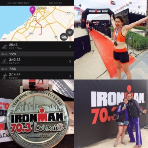 Alexandra Messager Dubai Ironman 70.3