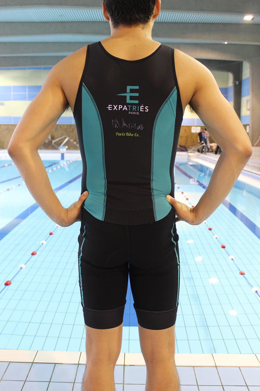 Men Pro Tri-Suit - 90€ – International Triathlon Club of Paris